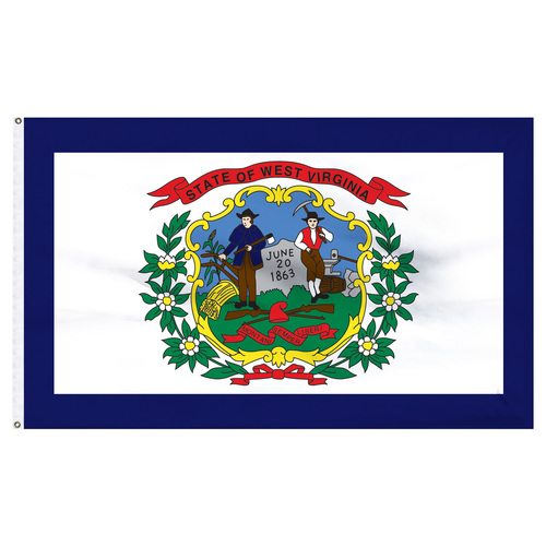 West Virginia 12ft x 18ft Nylon Flag