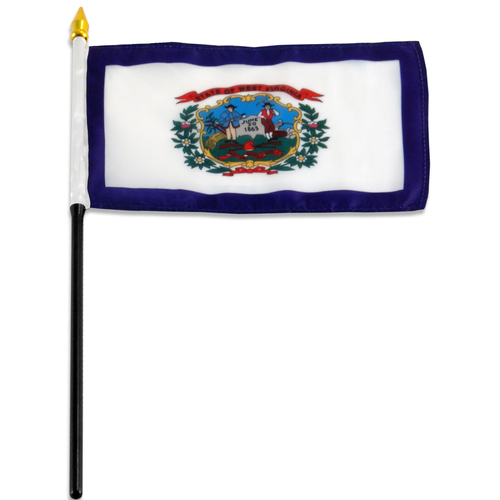 West Virginia flag 4 x 6 inch