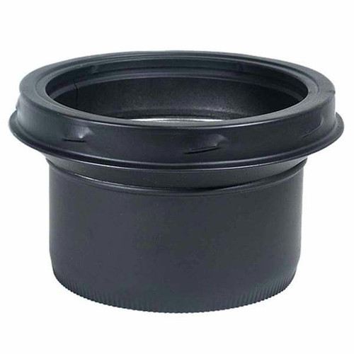 7'' SuperPro Black Stove Pipe Adapter - JSC7ASE - Less Than Perfect