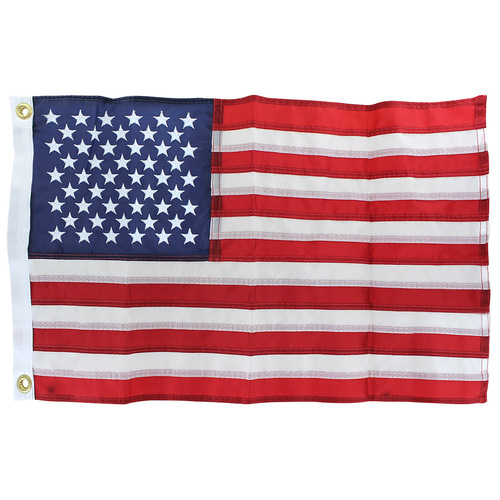 USA 12in x 18in Endura Nylon Outdoor flag