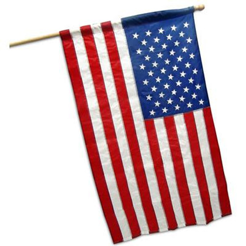 US Flag  banner type 2ft 6 inch x 4ft Nylon (Imported)
