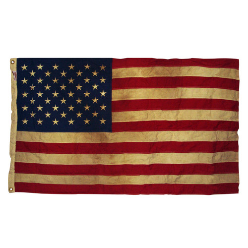 USA 3' x 5' Cotton Flag Heritage Series by Valley Forge