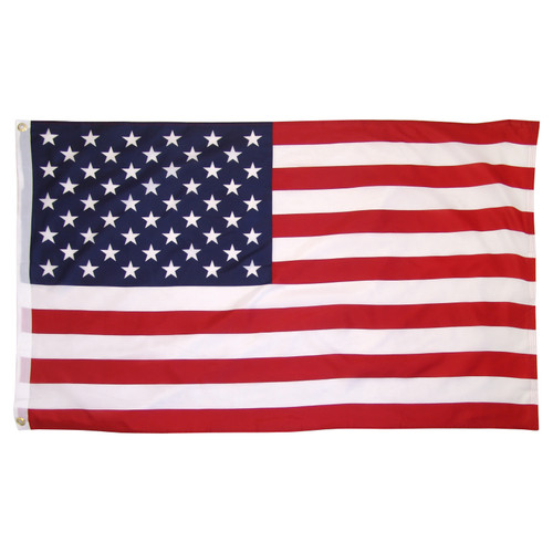 US Flag Printed Polyester 3ft x 5ft with Grommets