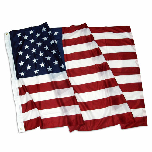American 3ft x 5ft Flag Super Knit Polyester with Grommets