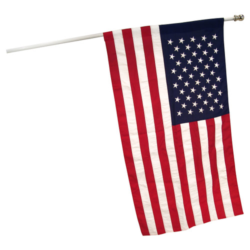 3ft x 5ft American Banner Flag Sewn Polyester - US Made