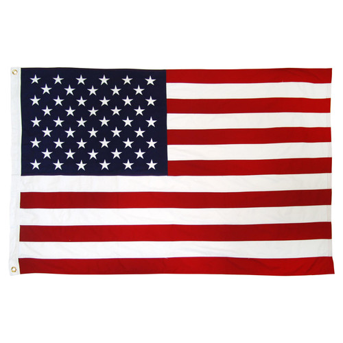 Online Stores, Inc.  American Flag 4ft x 6ft Cotton