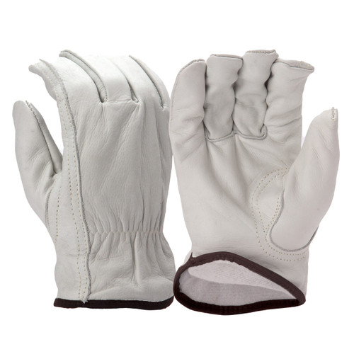 Pyramex Fleece Lined Cowhide Leather Gloves - Single Pair