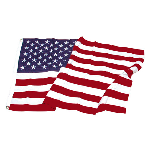 4ftx6ft Super Tough Polyester American Flag - US Made