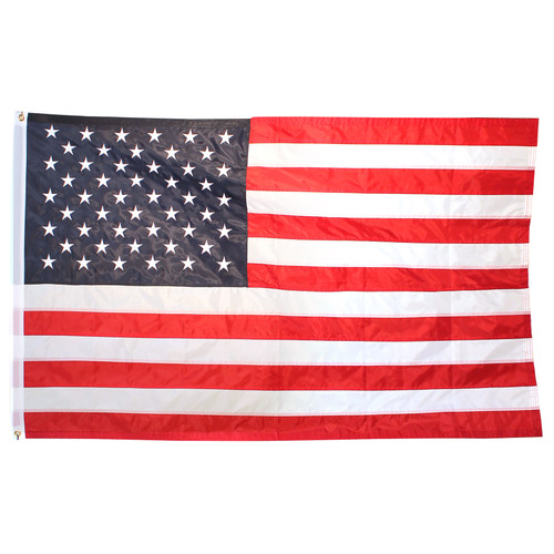 6ft x 10ft Superstream Sewn Nylon American Flag