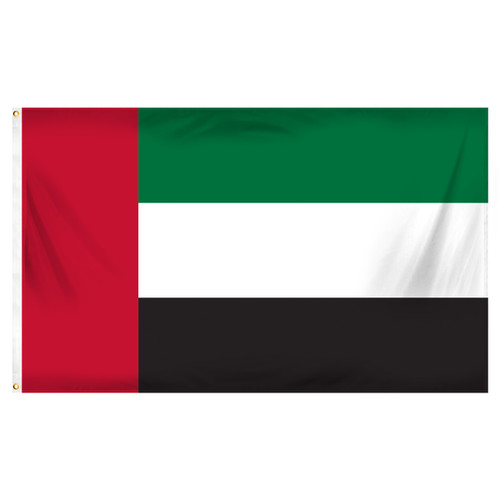United Arab Emirates 3ft x 5ft Printed Polyester Flag