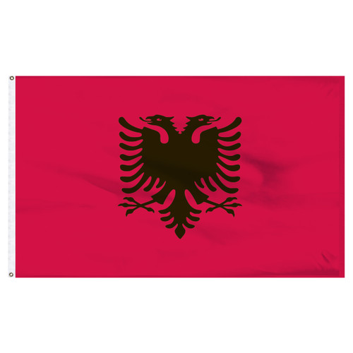 Albanian Flag ( Flag of Albania ) 5ft x 8ft Nylon