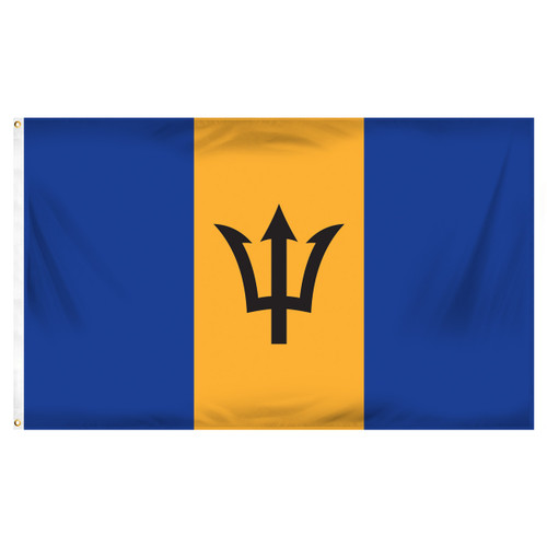 Barbados 3ft x 5ft Printed Polyester Flag
