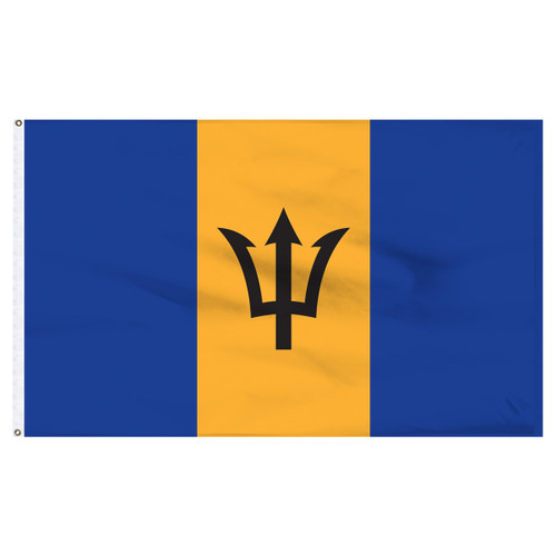 Barbados 5ft x 8ft Nylon Flag