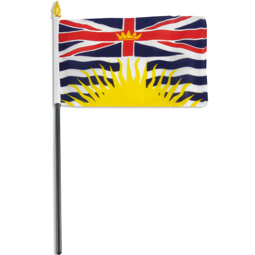 British Columbia flag 4 x 6 inch