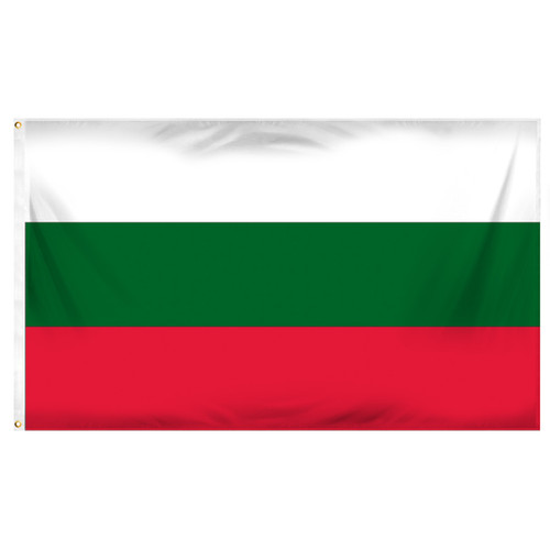 Bulgaria 3ft x 5ft Printed Polyester Flag
