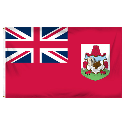 Bermuda 3ft x 5ft Printed Polyester Flag