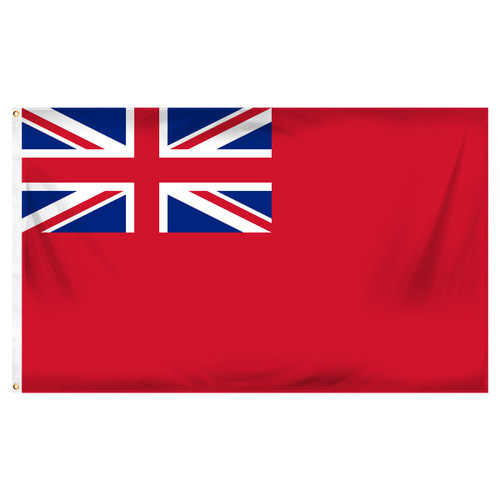 British Red Ensign Flag 3ft x 5ft Printed Polyester