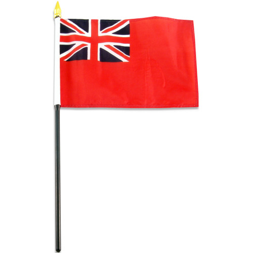 British Red Ensign Flag 4 x 6 inch