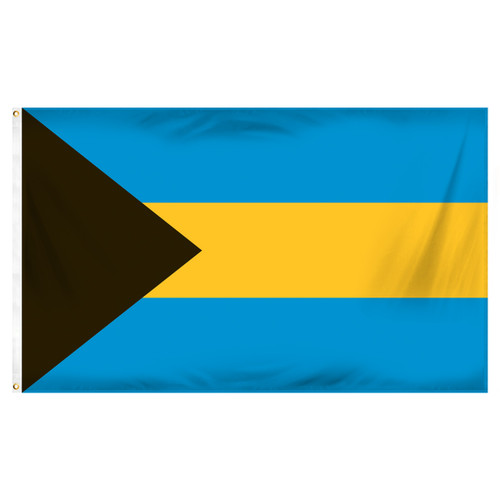 Bahamas 3ft x 5ft Printed Polyester Flag