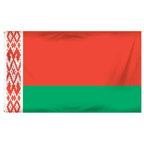 Belarus 3ft x 5ft Printed Polyester Flag