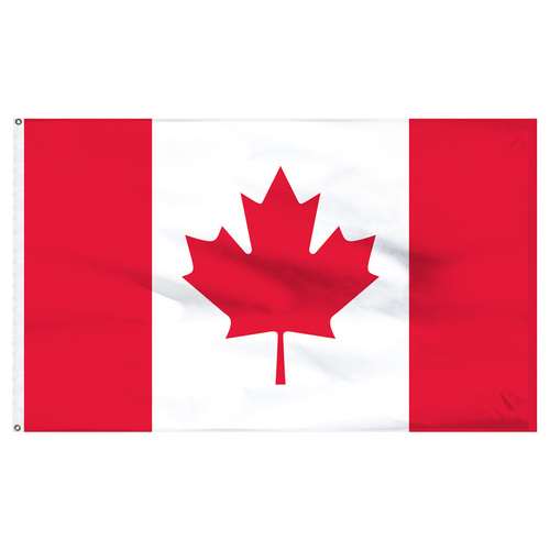 Canada 6ft x 10ft Nylon Flag