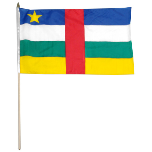 Central African Republic flag 12 x 18 inch
