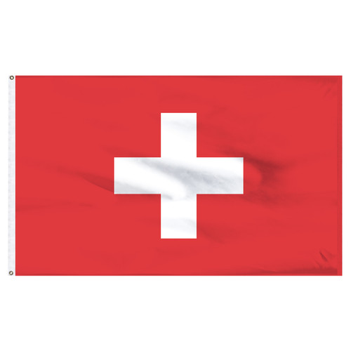 Switzerland 5ft x 8ft Nylon Flag