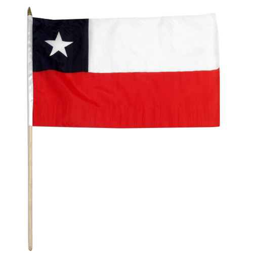 Chile flag 12 x 18 inch