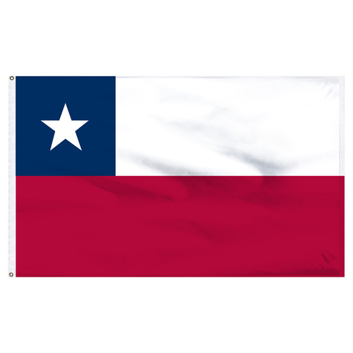 Chile Flag 5ft x 8ft Nylon