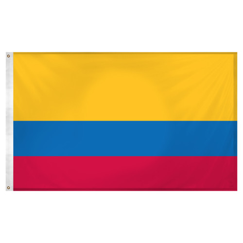 Colombia Flag 3ft x 5ft Super Knit Polyester