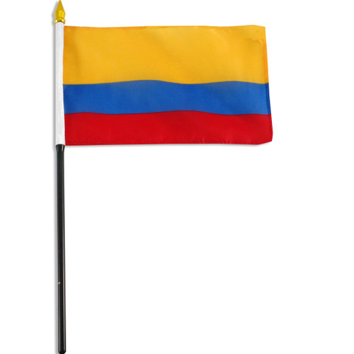 Colombia flag 4 x 6 inch