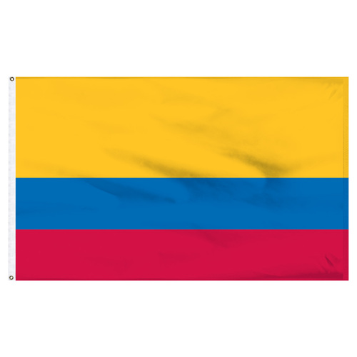 Colombia Flag 5ft x 8ft Nylon