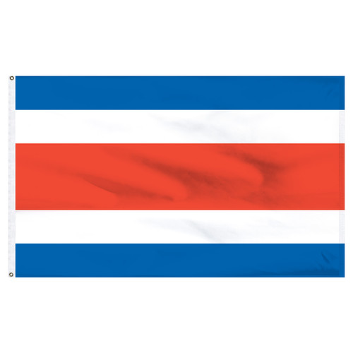 Costa Rica Flag 5ft x 8ft Nylon