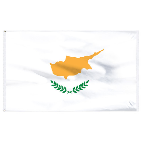 Cyprus 5ft x 8ft Nylon Flag