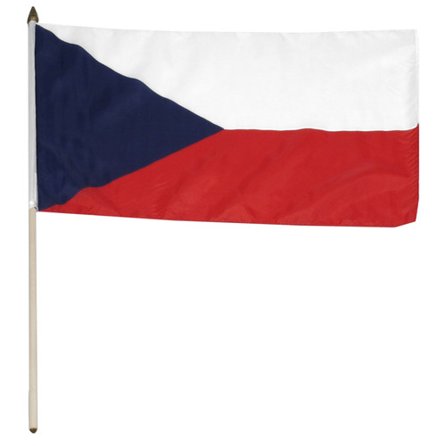 Czech Republic flag 12 x 18 inch