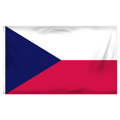 Czech Republic 3ft x 5ft Printed Polyester Flag