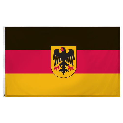 Germany State Ensign 3ft x 5ft Super Knit polyester