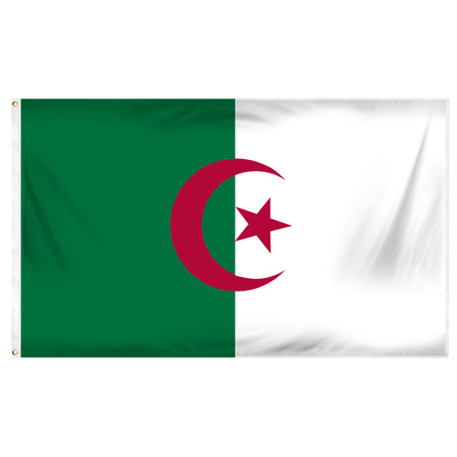 Algeria 3ft x 5ft Printed Polyester Flag