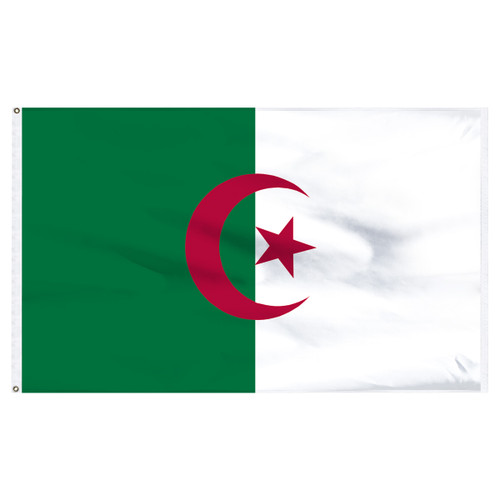 Algeria 4ft x 6ft Nylon Flag