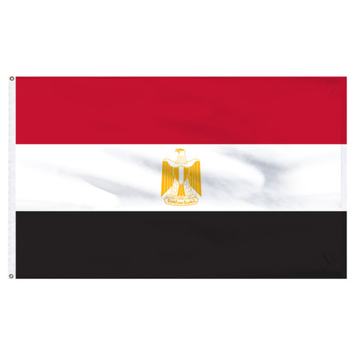 Egypt Flag 5ft x 8ft Nylon