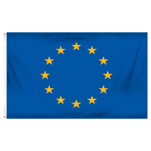 European Union 3ft x 5ft Printed Polyester