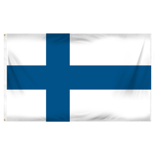 Finland 3ft x 5ft Printed Polyester Flag