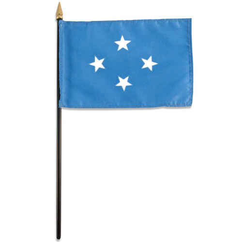 Micronesia 4in x 6in Flag