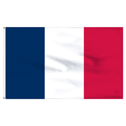 France 6ft x 10ft Nylon Flag