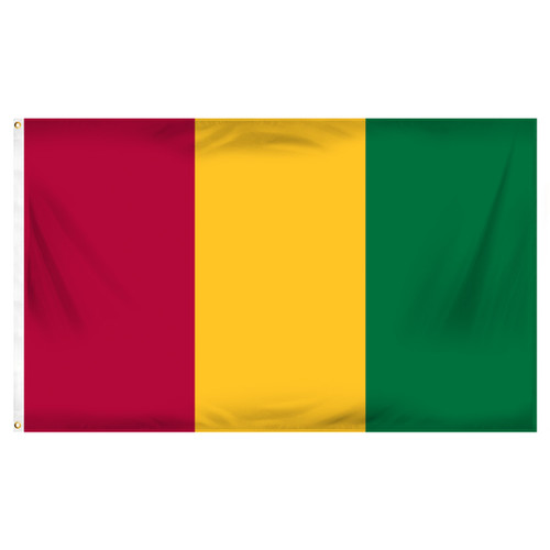 Guinea 3ft x 5ft Printed Polyester