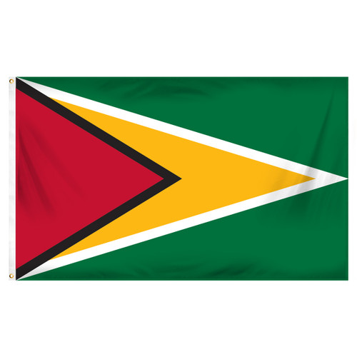 Guyana 3ft x 5ft Printed Polyester