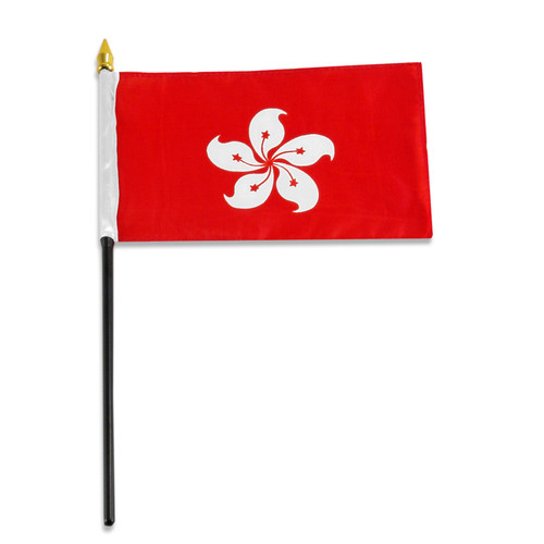 Hong Kong flag 4 x 6 inch