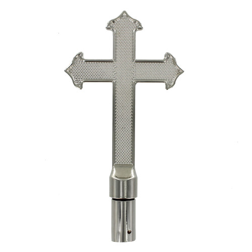 Metal Fancy Cross - Silver