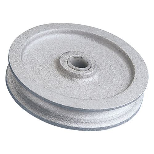 "Aluminum Rope Pulley - 3 3/4"" Diameter"