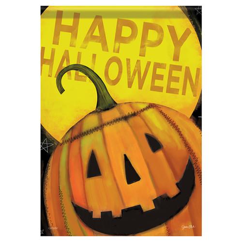 Carson Halloween Glittered Garden Flag - Happy Jack Halloween